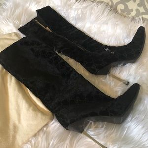Authentic Gucci suede boots